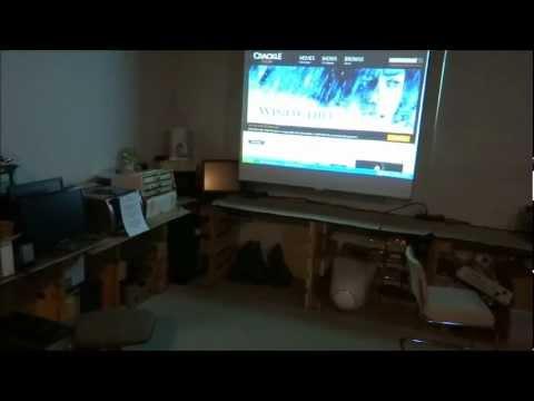 Microcontroller controlled Video Entertainment Center