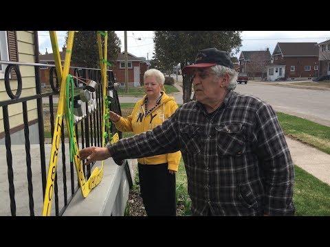 Sault family's tribute to Humboldt Broncos