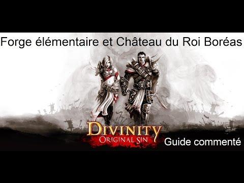 22 - Divinity Original Sin - Guide commenté FR HD - Forge élémentaire et château du Roi Boréas