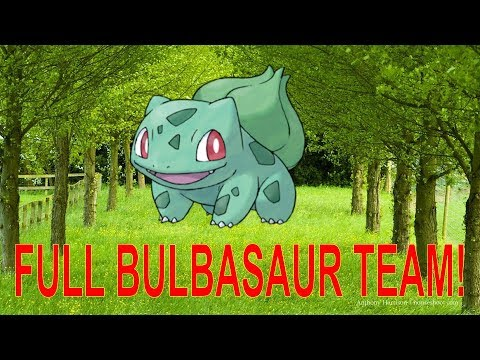 Full Bulbasaur Team!! - Pokémon Showdown