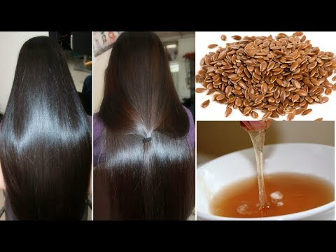 Flax Seeds Hair Mask for Super Silky and Shiny Hair | Get Silky Hair, Shiny Hair, Soft Smooth Hair