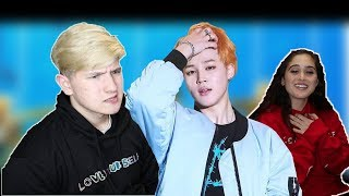 JIMIN IS ABOUT TO STEAL MY GIRL😟 | MY GF REACTS TO JIMINS LEGENDARY FANCAMS