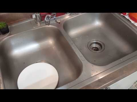 How to Unclog a Kitchen Sink. Without Chemicals and Disassembling Pipe.