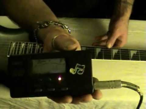 How to tune a floating bridge electric guitar