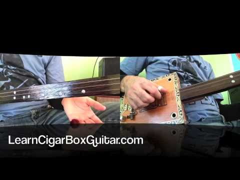 How to play You Gotta Move on a cigar box guitar