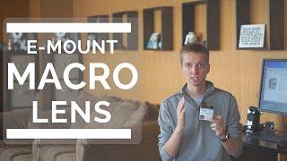 Make Any E-mount Lens Into A Macro Lens
