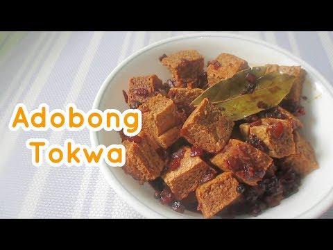 Adobong Tokwa Recipe | Adobong Tofu | How To Make Adobong Tokwa