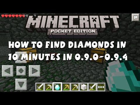 [0.9.0] Minecraft Pocket Edition - Find Diamonds in First 10 Minutes