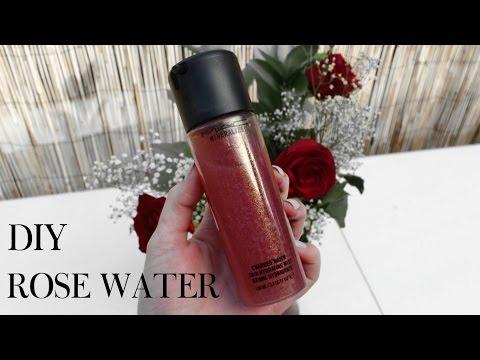 DIY ROSE WATER | MAKEUP SETTING SPRAY