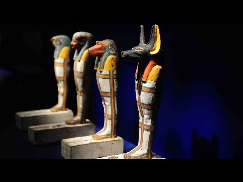 Museo Egizio Egyptian relics exhibited in Chinese cities