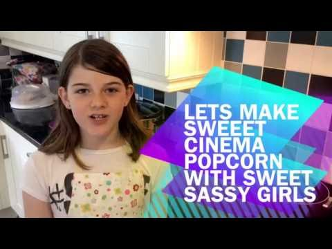 How to make Sweet Cinema style popcorn tutorial. Recipe and cooking instructions.