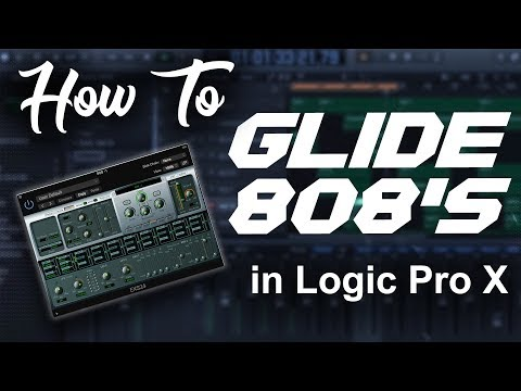 How to make 808 glides/slides in Logic Pro X | Beat Makers Tutorial (updated)