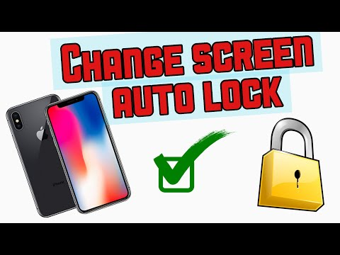 How to change screen timeout time on iPhone 5,6,6,7,7 plus 2017.i