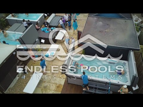Hotspring Dealer Endless Pools Training Day in Sevenoaks, Kent
