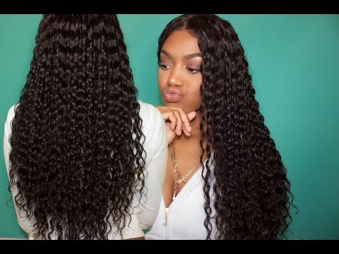 How To Maintain Deepwave/curly Hair ✿ft. chinalacewigs.com