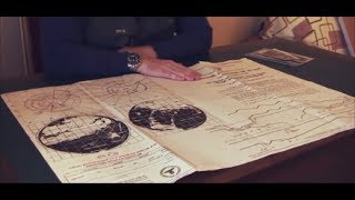 They found Mysterious Map in  Antarctica