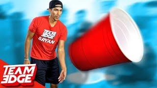 GIANT Flip Cup Challenge!!