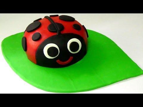 how to make ladybug cake