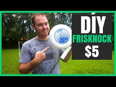 How To Make Frisknock for $5 | DIY Beersbee, Beer Frisbee, Polish Horseshoes | Best Lawn Games 2017