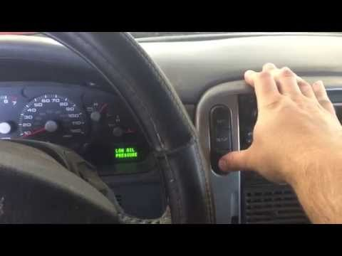 How to Reset Oil Life on 2004 & 2005 Ford Explorer