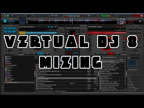 VIRTUAL DJ 8 - Drum and bass mixing without Beatsync