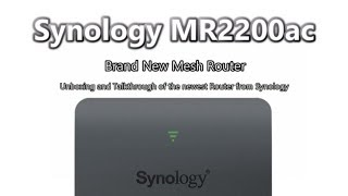 Synology introduced Mesh Router MR2200ac - The Most Popular
