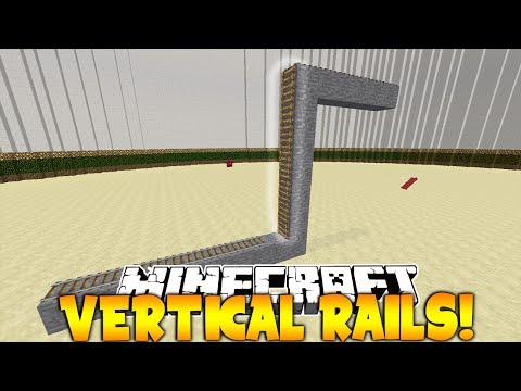 Vertical Rails on Minecraft! (Plugin)