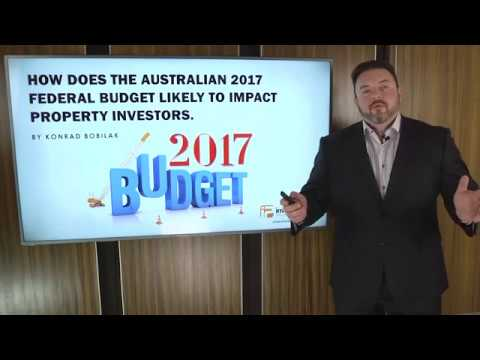 How Does The Australian 2017 Federal Budget Likely To Impact Property Investors. By Konrad Bobilak