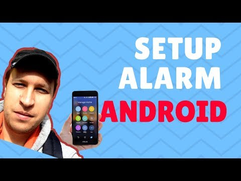 How to setup alarm on Android 2018?
