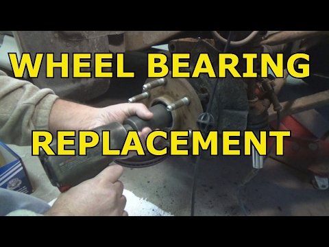 2000-2006 chevy - GMC wheel bearing replacement.