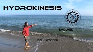 Hydrokinesis at a Beach in Santa Cruz, California