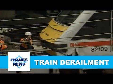 Euston Train Derailment | Thames News Archive Footage