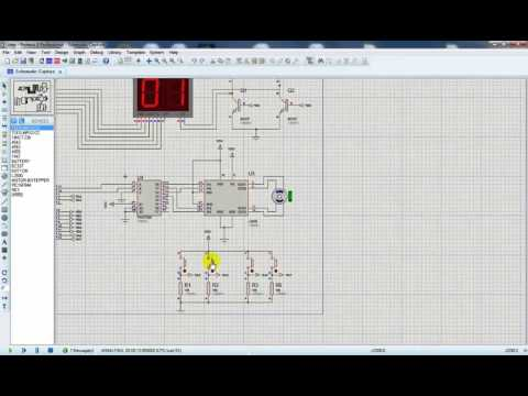 Stepper Motor Driver Simulation and PCB