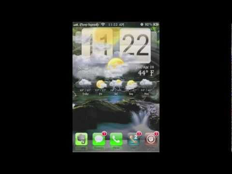 How to setup and add location to HTC Weather widget