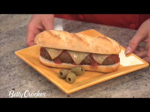 How To Make Meatballs with Betty Crocker