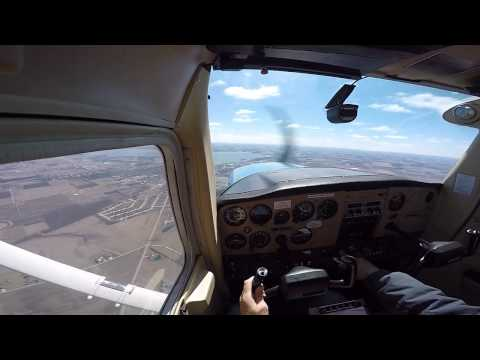 Private Pilot Training - Long Solo Cross Country (Leg 1)