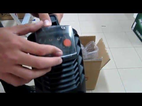 Unpacking / unboxing Welding Inverter MMA-160 / Invertor solution IGBT-160