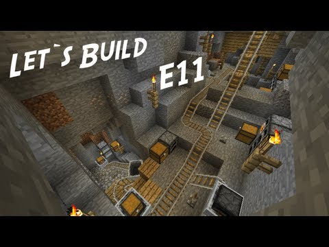 Minecraft Let's Build (Creative Mode) E11 - ''Diamonds in de mine'' (IkBenJeGame)