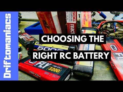 Choosing The Right RC Battery - Choosing A Lipo Battery - Driftomaniacs