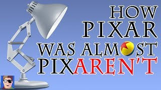 How Pixar Was Almost Pixaren't!