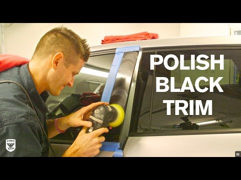 How to Polish Black Trim