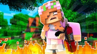 CAN LITTLE KELLY SURVIVE THE BURN?! Minecraft Little Kelly
