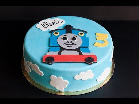 Thomas the Train Cake -  Lyona Cakes -  Geneva