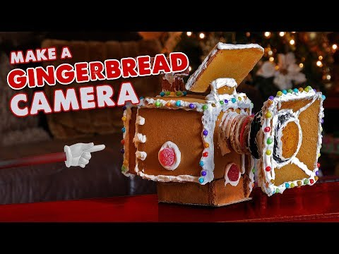 Gingerbread RED Digital Cinema Camera!! - BUILD by Knoptop