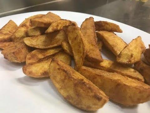 How To Make Crunchy Potato Wedges