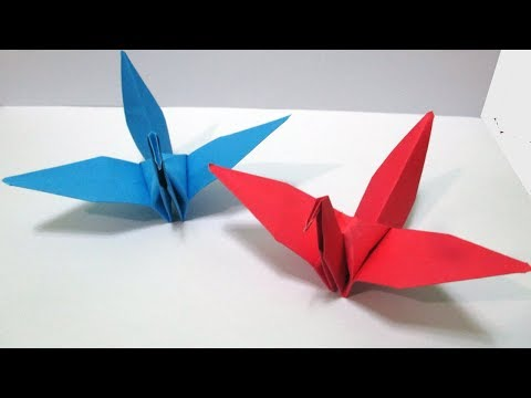 Origami Bird#How to make origami paper birds Easy step by step?DIY Origami- Easy Paper craft .