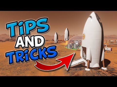 TIPS AND TRICKS for Surviving Mars! Normal and Hard Mode Tutorial