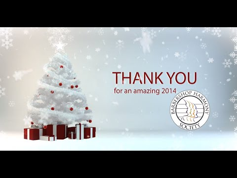 A 2014 Christmas Card from the Barbershop Harmony Society