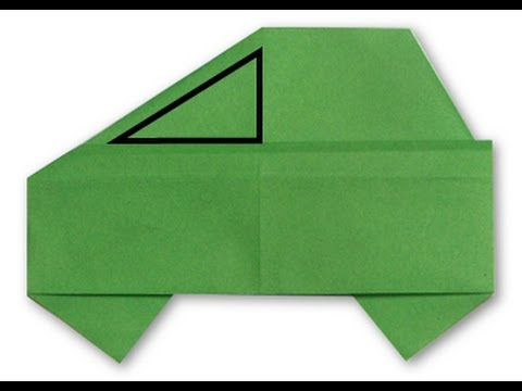 How to make origami Car 2