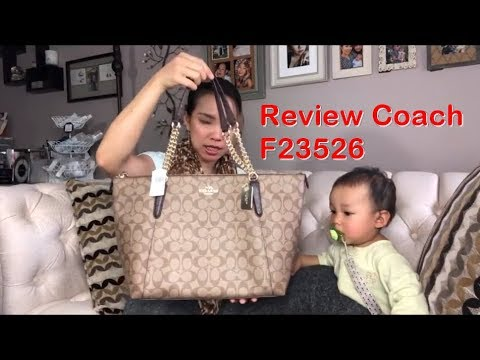 Review กระเป๋า Coach F23526 - I SELL COACH BAG   COACHBYKATE